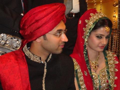 Dj ali hasnain wedding