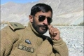 Maj Zaka of 42nd Entry burried under snow in Gyari